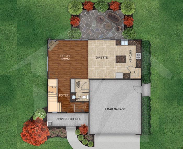 White Oak - First Floor