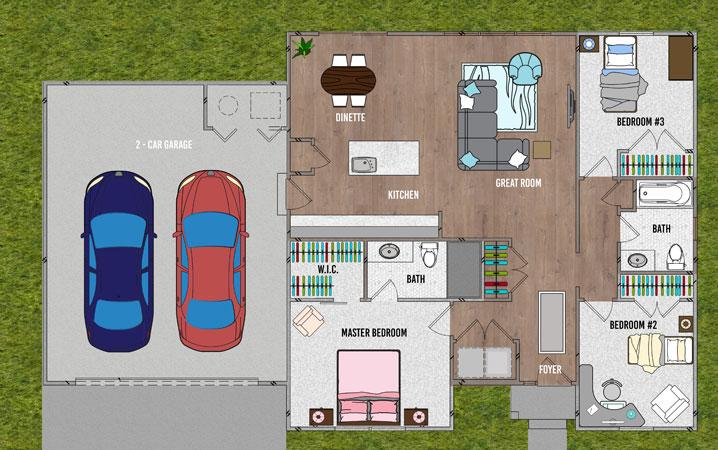 Sycamore 2 - Floorplan